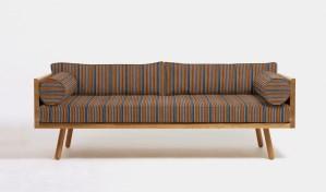 digitally draped sofa
